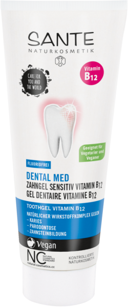SANTE Zahncreme ohne Fluorid Minze 75 ml
