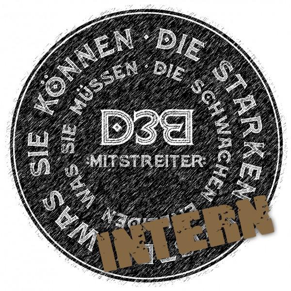 D3B-Mitstreiterschaft Gold