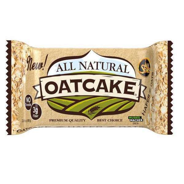 All Natural Oatcake 80g Coconut All Stars Energie Riegel