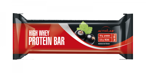 Active Lab High Whey Protein Bar 80g Schwarze Johannisbeere