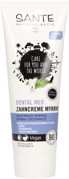 SANTE Zahncreme ohne Fluorid Myrrhe 75 ml