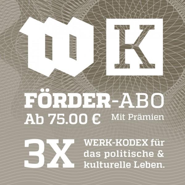 Werk Kodex FÖRDER-ABO