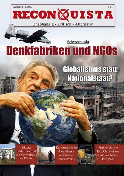 Reconquista 1/2019: Denkfabriken & NGOs