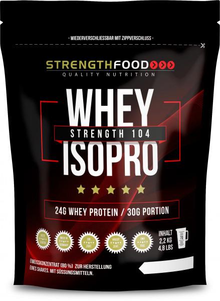 Whey Protein Isolate - IsoPro - Stevia