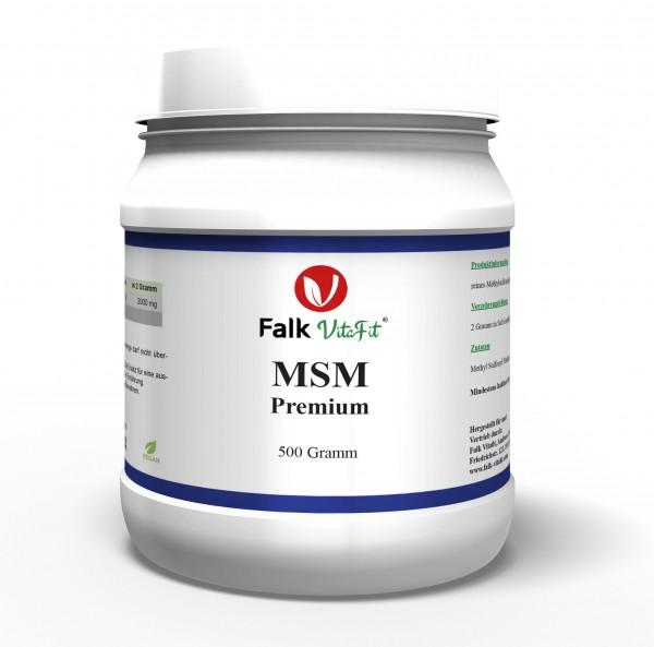 MSM Premium Pulver