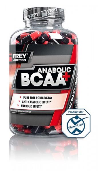 FREY NUTRITION Anabolic BCAA+, 250 Kaps.